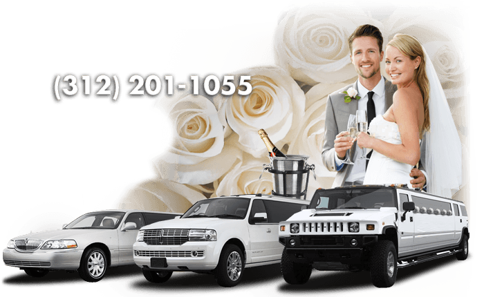 chicago wedding limo rental