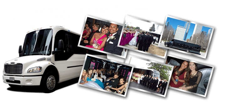 party bus clubbing packages in Melrose Park