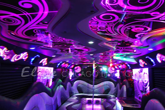 Elite chicago limo best value in chicago party bus